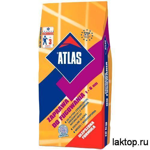 ATLAS Белая Затирка для плитки