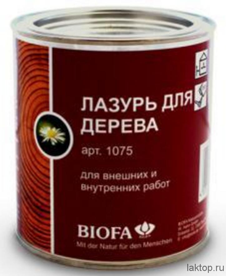 Лазурь для дерева biofa купить
