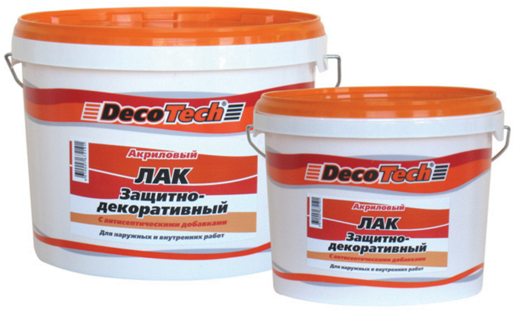 DecoTech защитный лак