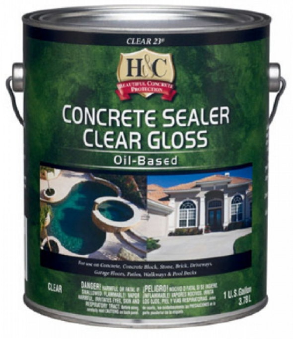 H&C Concrete Sealer Clear