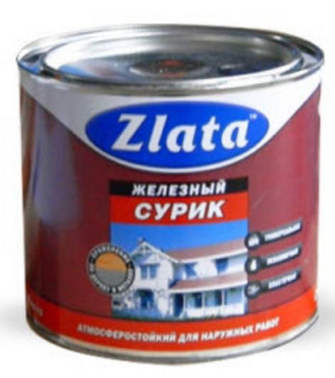 Железный сурик Zlata 2,5