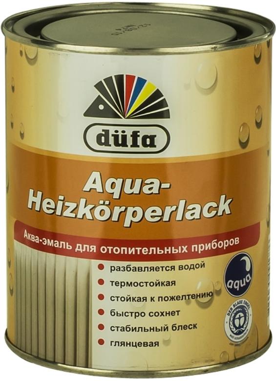 Aqua heizcorperlack