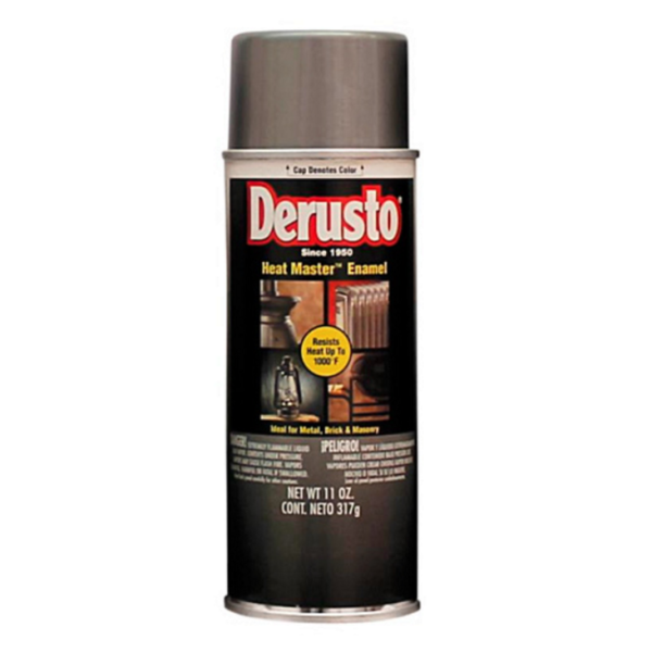DERUSTO Heat Master Spray Enamel