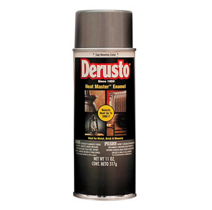DERUSTO Heat Master Spray Enamel