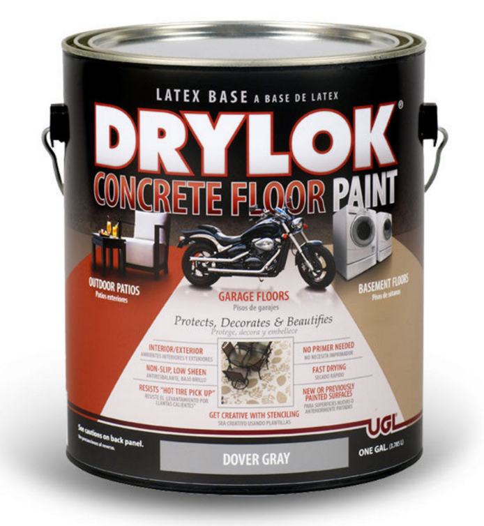 Drylok concrete floor paint