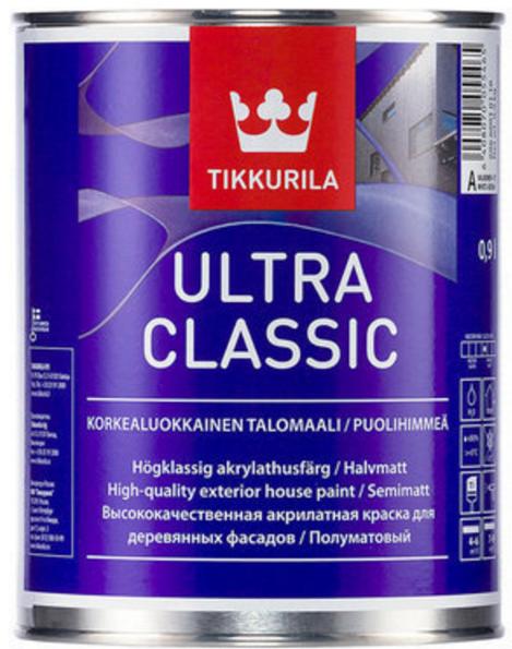 Ultra classic полуматовая акрилатная эмаль