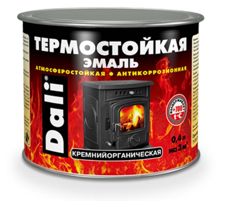 Эмаль термостойкая DALI