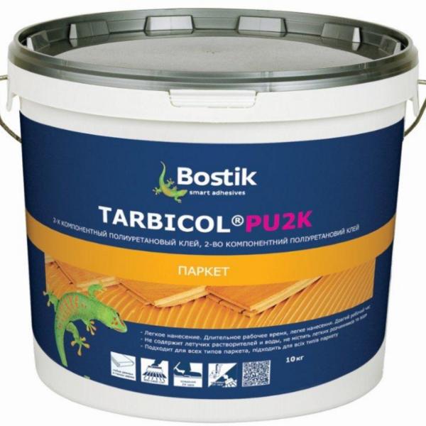 Tarbicol Pu2K двухкомпонентный полиуретановый клей для всех видов паркета