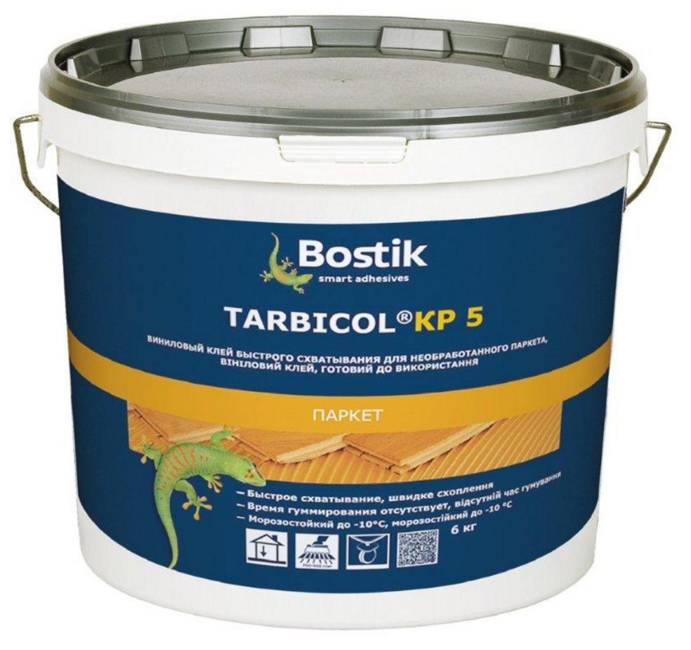 Tarbikol Kp5 - Виниловый клей для необработанного паркета и фанеры 6кг
