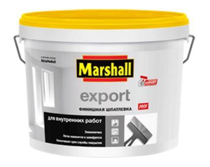 Финишная шпатлевка Marshall Export