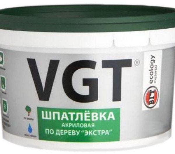 Шпатлёвка акриловая по дереву «ЭКСТРА» VGT