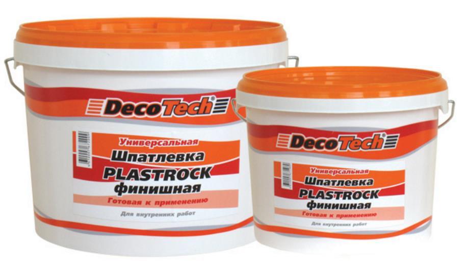 Шпатлёвка универсальная DecoTech plastrock