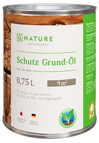 Защитный грунт-масло Gnature 870 Schutz Grund-Öl
