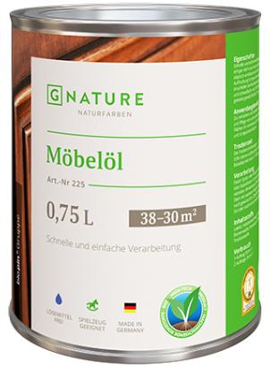 Масло для мебели Gnature №225 Möbelöl