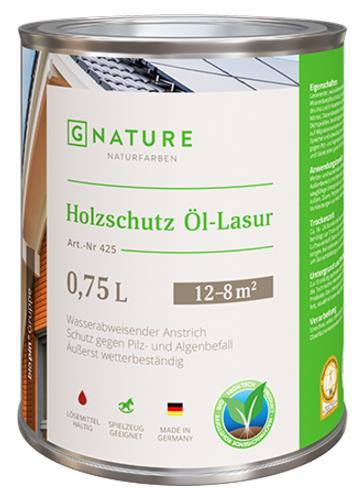 Масло-лазурь для дерева №425 Holzschutz Öl-Lasur