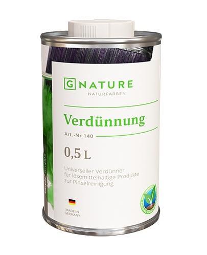 Очиститель (растворитель) Gnature №140 Verdünnung