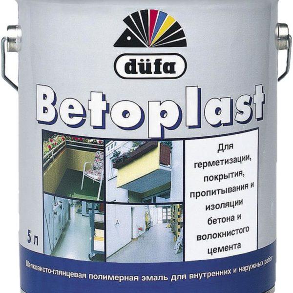 Betoplast Dufa Шелковисто-глянцевая полимерная эмаль для внутренних и наружних работ
