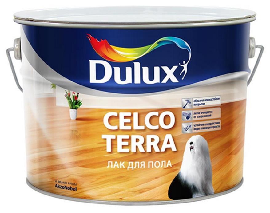 CELCO TERRA Лак для пола Dulux