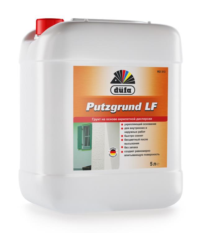 Putzgrund LF Грунт на основе акрилатной дисперсии Dufa RD313