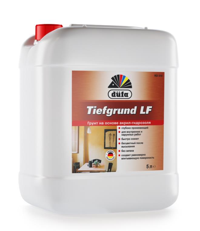 Tiefgrund LF Грунт на основе акрил-гидрозоля Dufa RD314