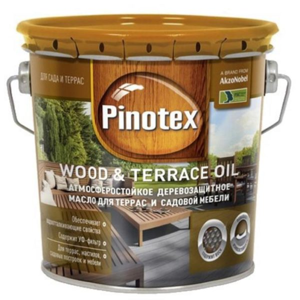 Pinotex wood & terrace oil