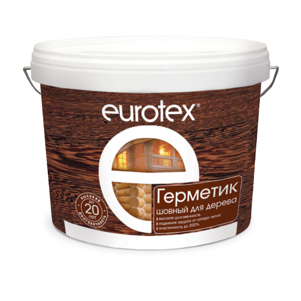 Eurotex Germetik shovnyi dlia dereva 3l