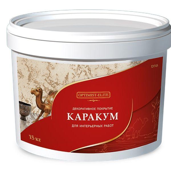 Optimist-elite Karakum dekorativnoe pokrytie D745