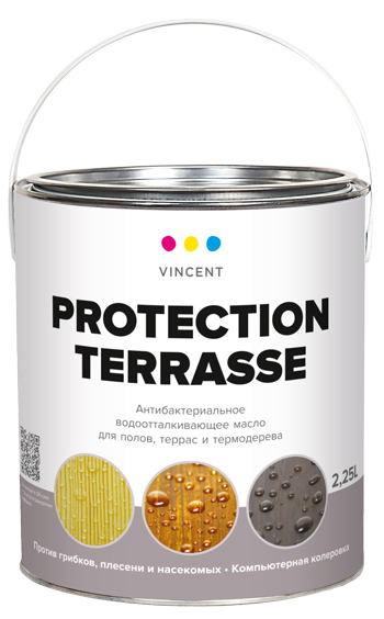 Vincent Protection Terrasse Vinsent Proteks'on Terras maslo derevozashchitnoe