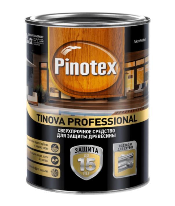 Pinotex Tinova Professional sverkhprochnoe sredstvo dlya zashity drevesiny Pinoteks Tinova