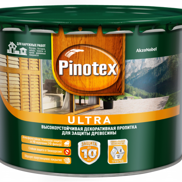 Pinotex Ultra Pinoteks Ul'tra 10l