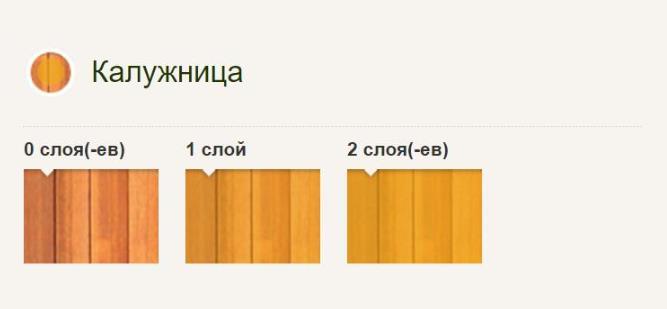 Pinotex Ultra Pinoteks Ul'tra Vysokoustoychivaya dekorativnaya propitka dlya zashchity drevesiny Kaluzhnitsa