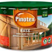 Pinotex base Pinoteks Baza gruntovochnyy antiseptik 10l