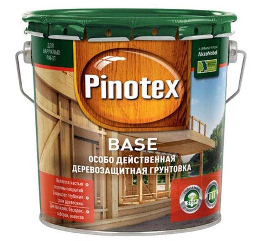 Pinotex base Pinoteks Baza gruntovochnyy antiseptik 3l