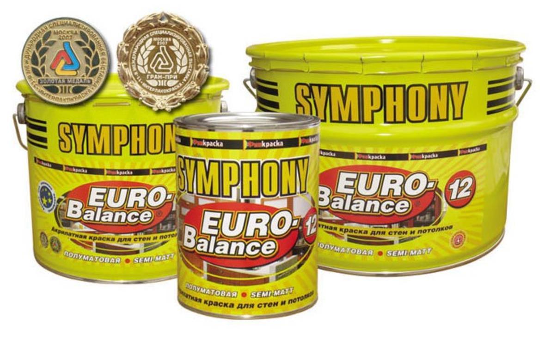 SYMPHONY EURO-Balance 12 AKRILATNAYa POLUMATOVAYa KRASKA