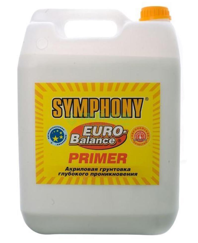 SYMPHONY EURO-Balance PRIMER AKRILOVAYa GRUNTOVKA GLUBOKOGO PRONIKNOVENIYa 10l