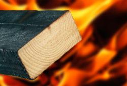 Как повысить огнестойкость дерева