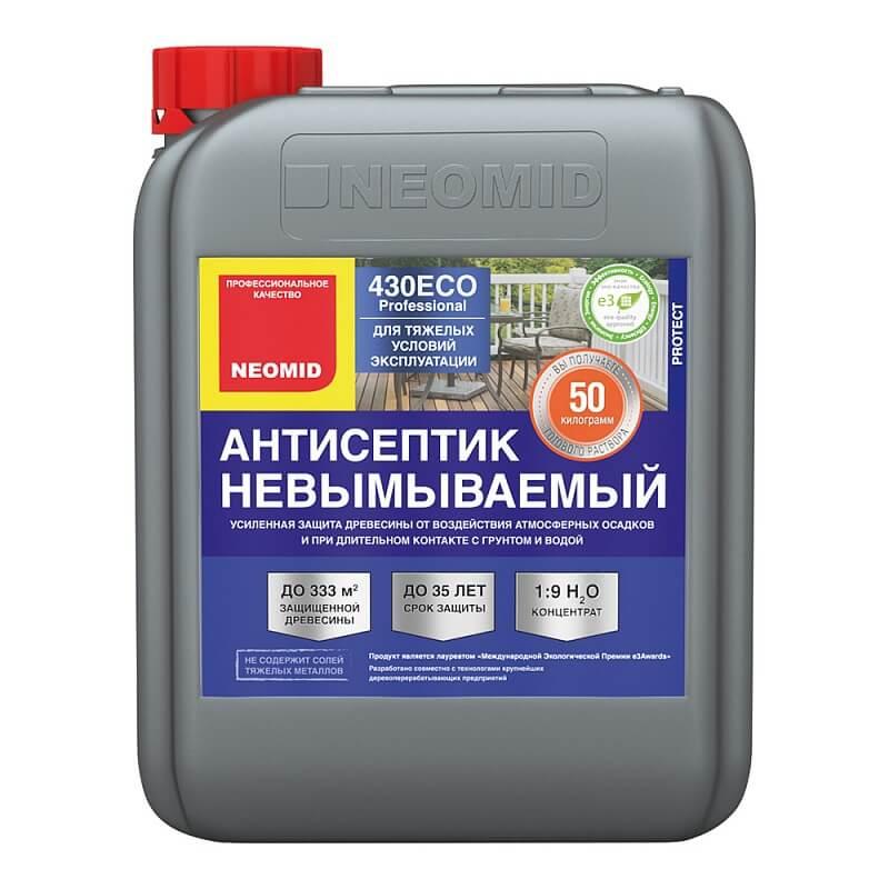 Neomid 430 ECO : Neomid 430 Eko antiseptik nevymyvaemyy zelenyy