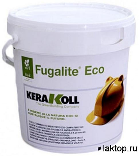 Fugalite Eco двухкомпонентная затирка KERAKOLL