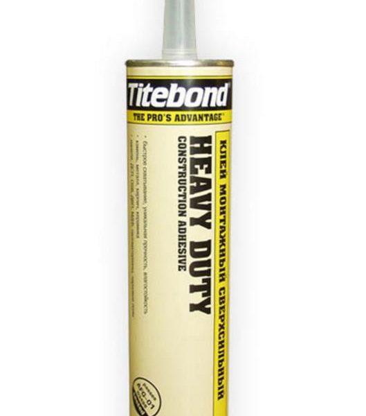 «Монтажный сверхсильный клей Titebond Heavy Duty 310 Мл ...