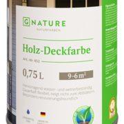 Укрывная краска Gnature №452 Holz-Deckfarbe