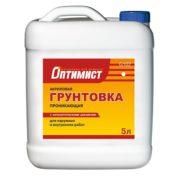 Optimist Gruntovka pronikaiushchaia s antisepticheskimi dobavkami