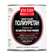 Poliuretanovyy lak Petri Diamond Hard glyantsevyy 1 l