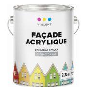 Vincent Facade Acrylique F 2 Vinsent Fasadnaya kraska 2,25