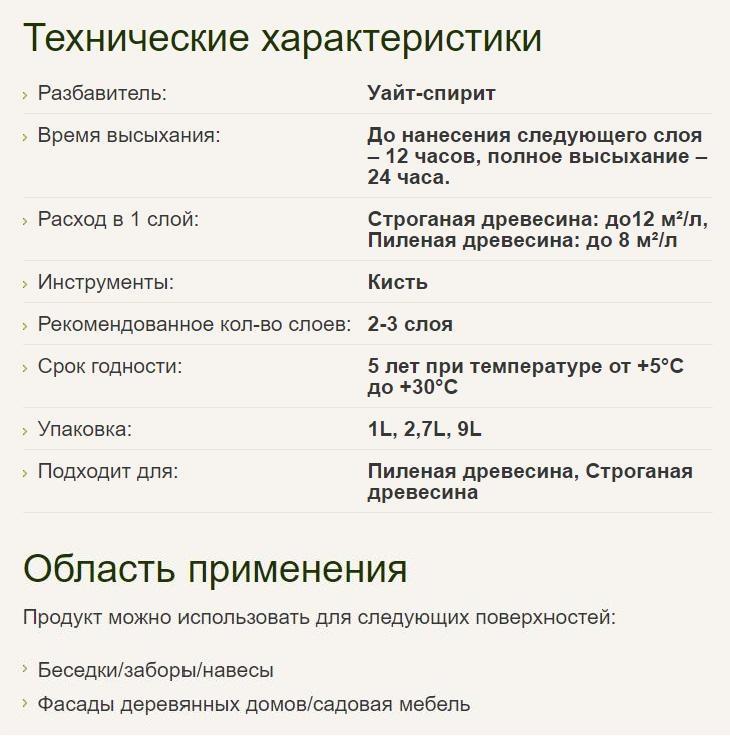 Pinotex natural Prozrachnaya atmosferostoykaya propitka dlya zashchity drevesiny 2