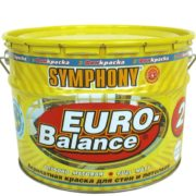 SYMPHONY EURO-Balance 2 AKRILATNAYa GLUBOKO MATOVAYa KRASKA SUPER-BELAYa metall. 9l