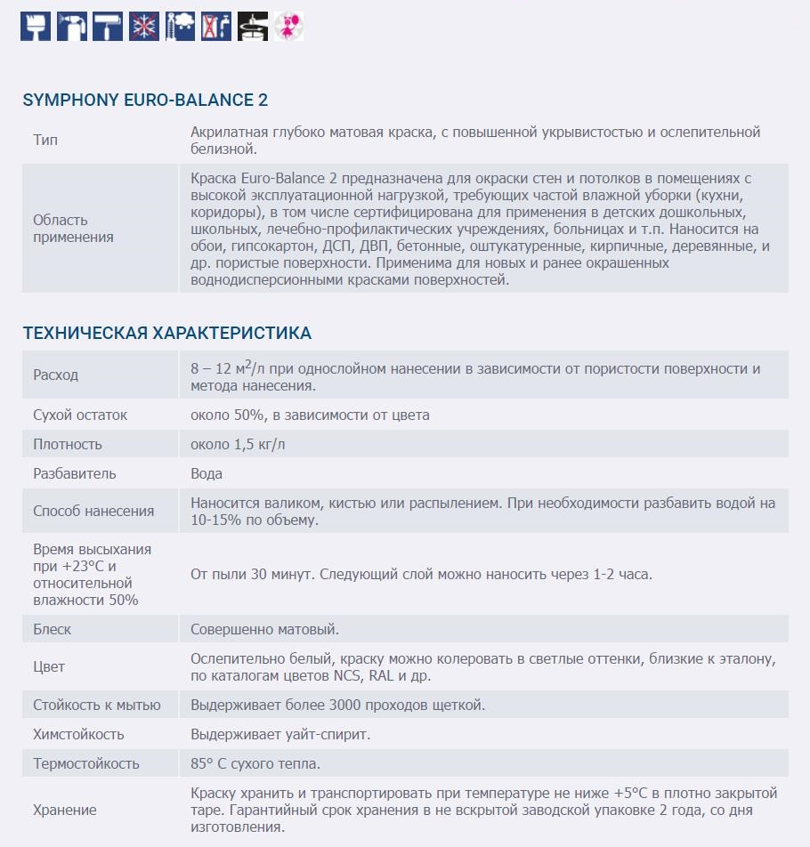 SYMPHONY EURO-Balance 2
