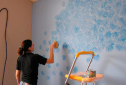краски для декорирования помещений