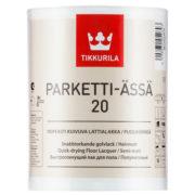 Паркетти-Ясся полуматовый лак для пола – Parketti Assa